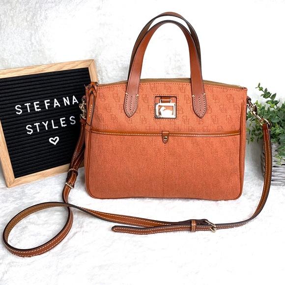 Dooney & Bourke Handbags - Dooney & Bourke Daniela Canvas Satchel / Crossbody